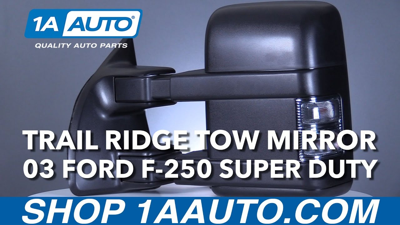 hight resolution of trail ridge ford towing mirror installation instructions trmrp00020 1a auto