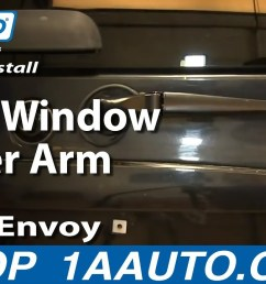 how to replace rear wiper arm 02 06 gmc envoy xl [ 1280 x 720 Pixel ]