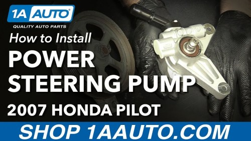 small resolution of 98 jeep power steering pump