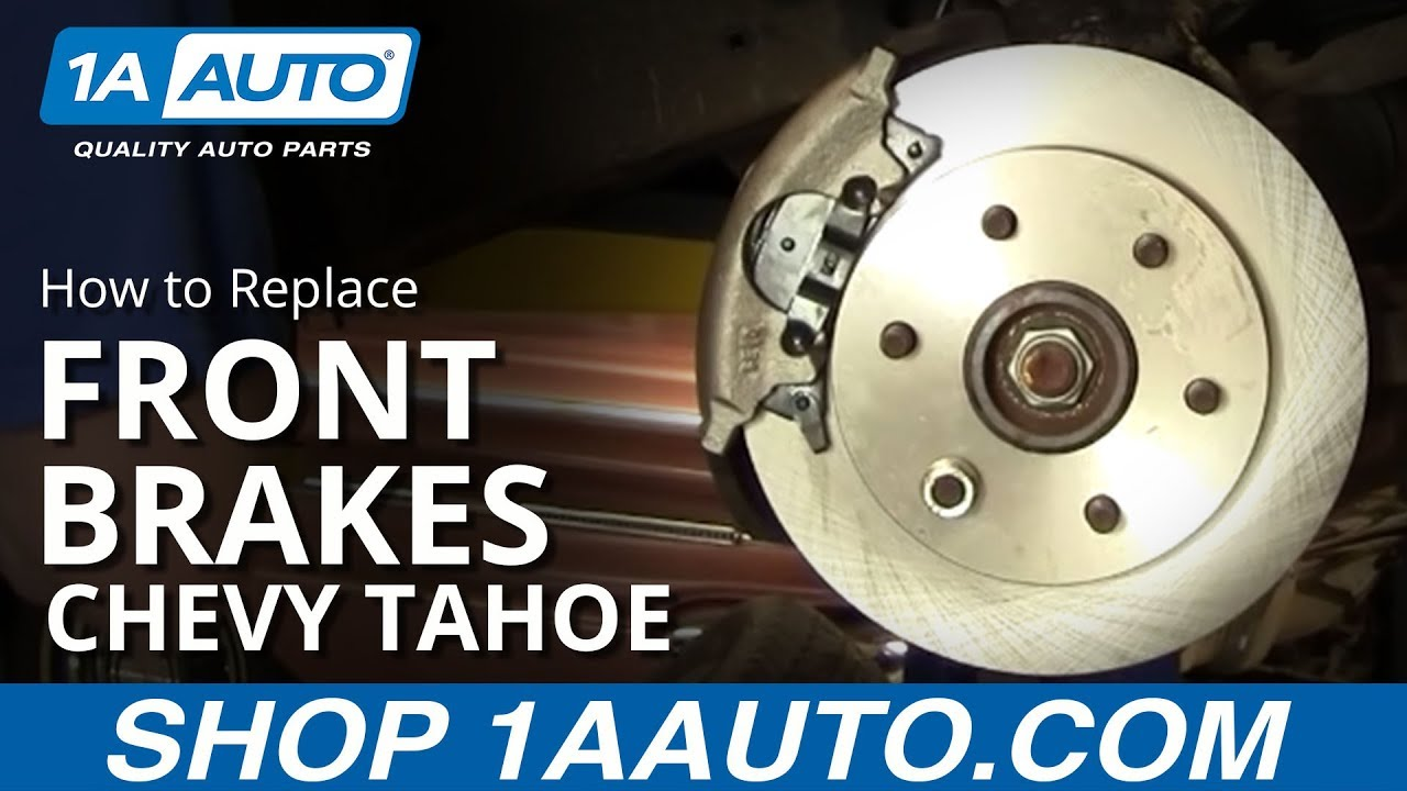 hight resolution of how to replace front brakes 95 00 chevy tahoe