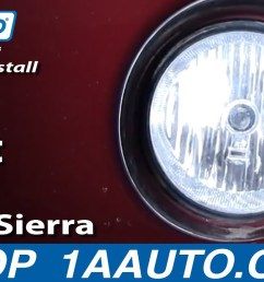 how to replace fog lights 03 06 gmc sierra 2500 1a auto 2015 gmc sierra fog light install gmc sierra fog light wiring [ 1280 x 720 Pixel ]