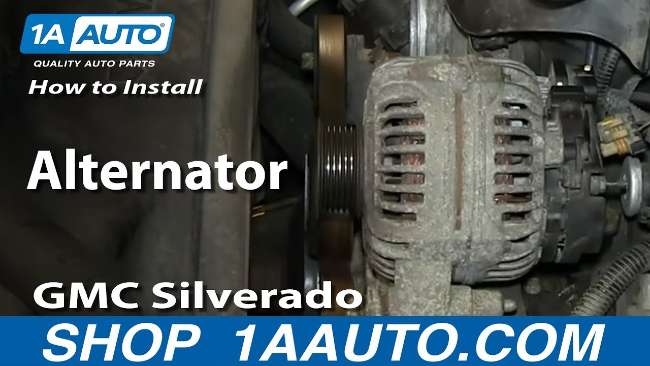 How To Replace Alternator 00-02 Chevy Suburban