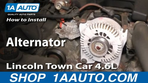 small resolution of alternator wiring diagram for 96 lincoln town
