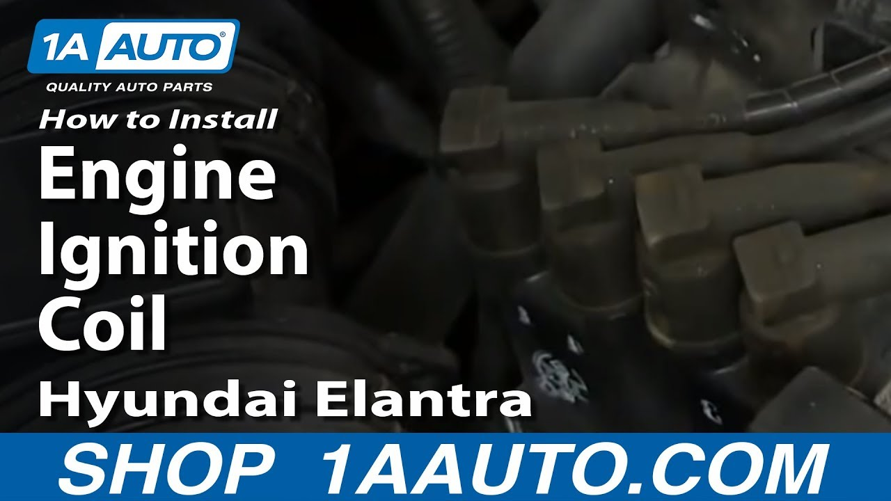 Amazon Radio Wiring Harness How To Replace Ignition Coil Pack 03 06 Hyundai Elantra