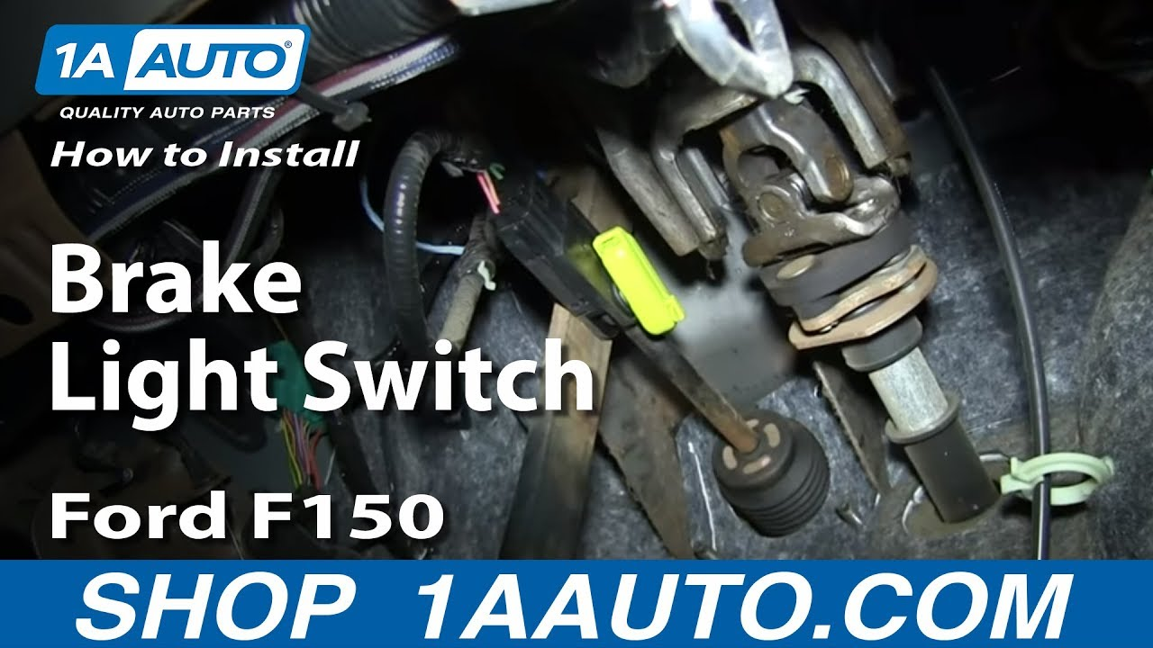 1983 Ford F 150 Radio Wiring Diagram How To Replace Brake Light Switch 04 08 Ford F150 1a Auto