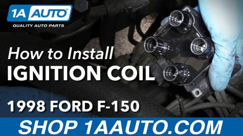 small resolution of how to replace passenger side ignition coil 97 99 4 6l v8 ford f 150 1a auto