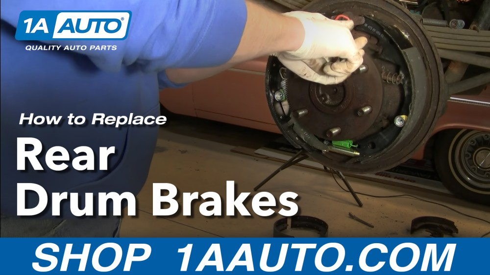 medium resolution of how to replace rear drum brakes 96 00 chevy tahoe