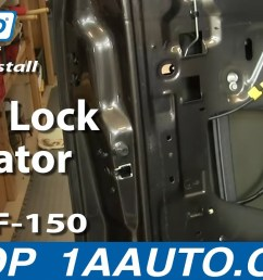 1994 ford ranger door lock wiring [ 1280 x 720 Pixel ]