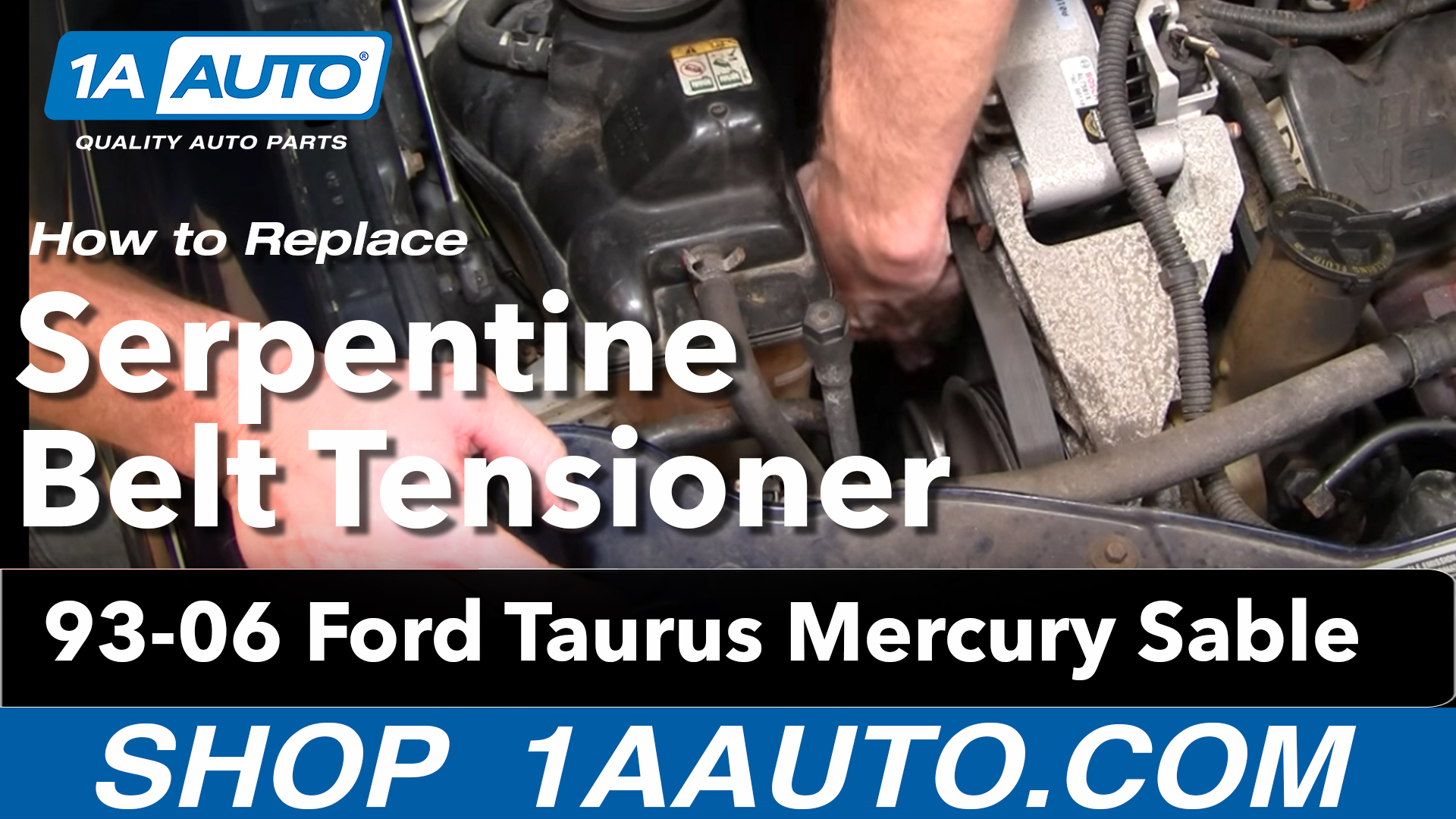 2006 Ford F150 Fuse Box How To Replace Serpentine Belt Tensioner 93 07 Ford Taurus