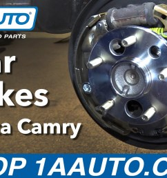how to replace rear drum brakes 97 01 toyota camry [ 1920 x 1080 Pixel ]