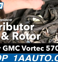 how to replace distributor cap 96 00 chevy tahoe [ 1920 x 1080 Pixel ]