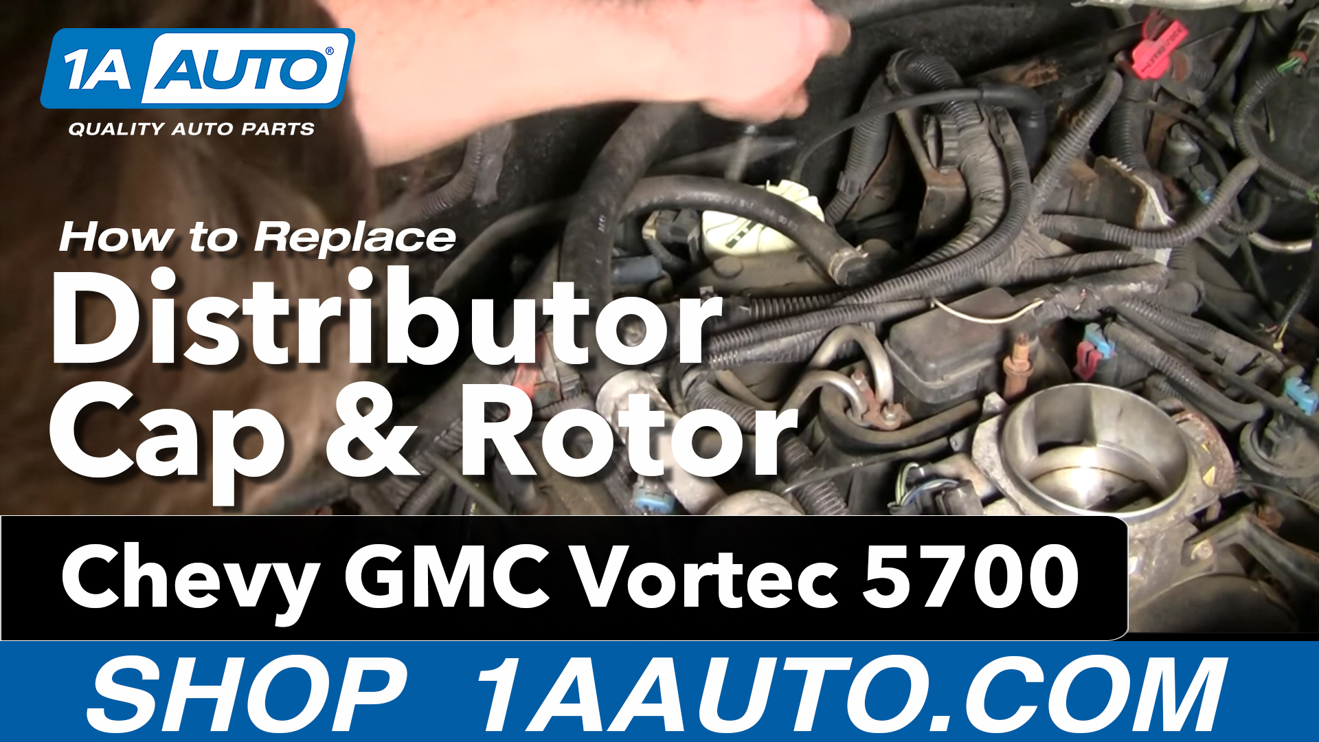 hight resolution of how to replace distributor cap 96 00 chevy tahoe
