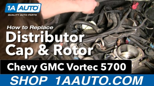 small resolution of how to replace distributor cap 96 00 chevy tahoe