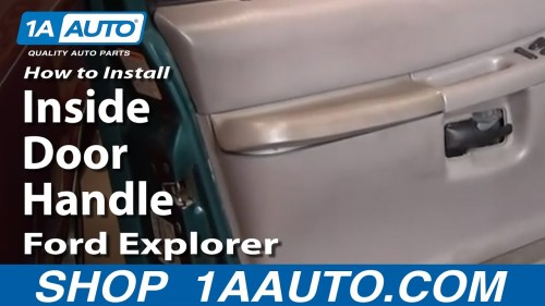 small resolution of ford explorer door latch diagram