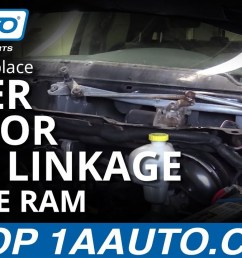 how to replace windshield wiper motor linkage 04 10 dodge ram 1a auto [ 1280 x 720 Pixel ]