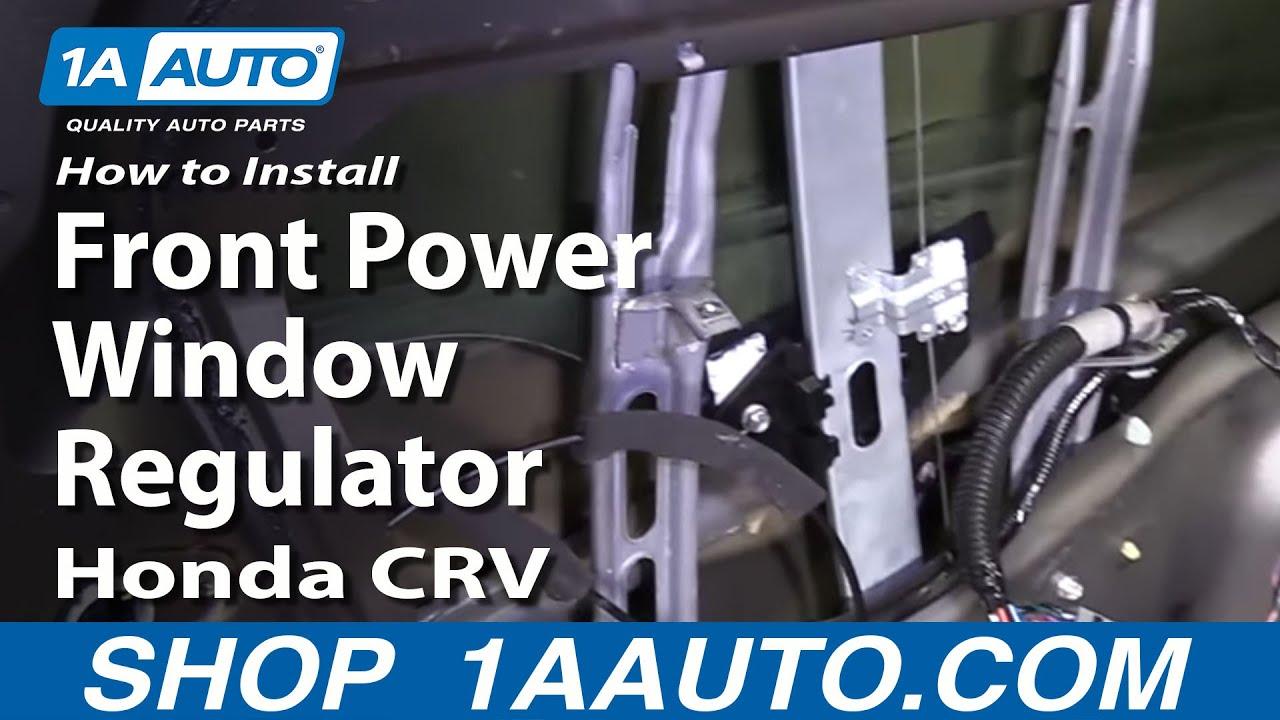 hight resolution of how to replace window regulator 02 06 honda cr v