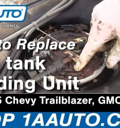 how to replace fuel pump sending unit module 02 04 gmc envoy xl [ 1920 x 1080 Pixel ]