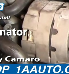 how to replace alternator 85 86 chevy camaro [ 1280 x 720 Pixel ]