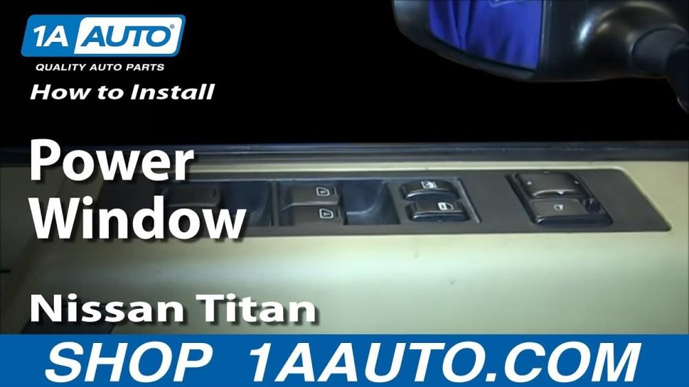 medium resolution of 2004 nissan titan window motor wiring