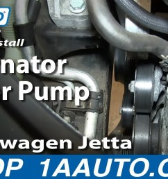 how to replace alternator water pump belt 05 10 2 5l volkswagen jetta 1a auto [ 1280 x 720 Pixel ]