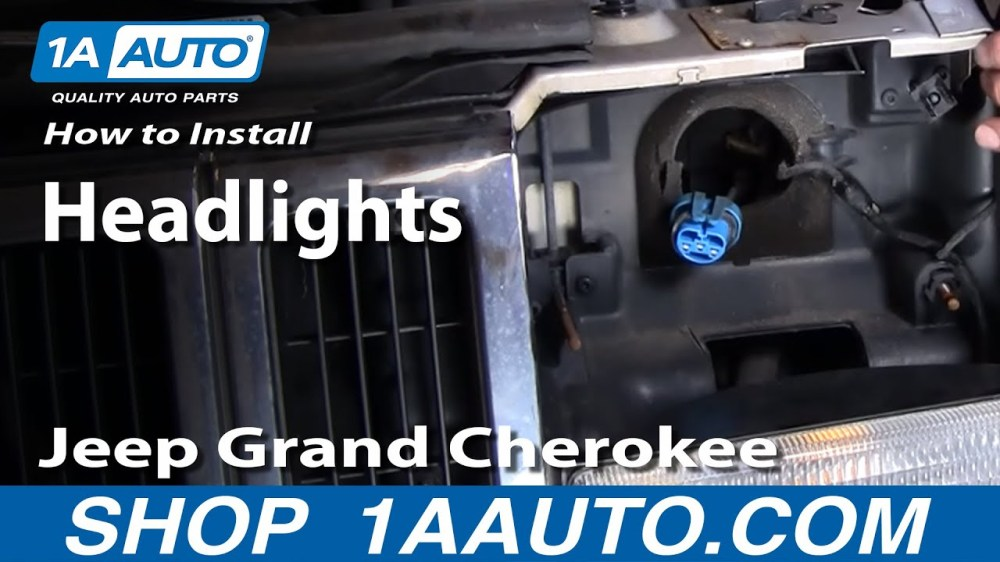 medium resolution of 1998 jeep grand cherokee headlight wiring diagram