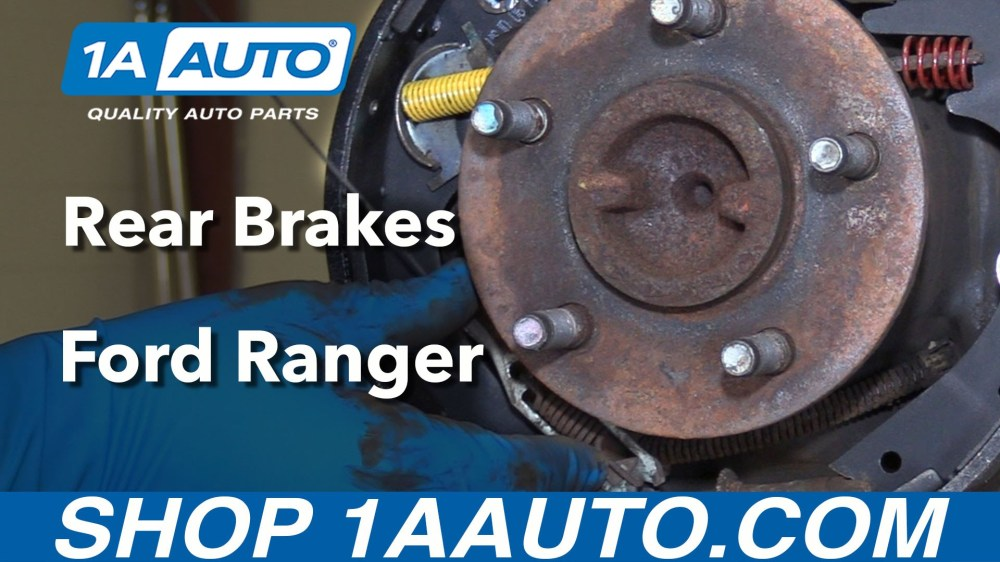medium resolution of 1992 ford ranger brake diagram