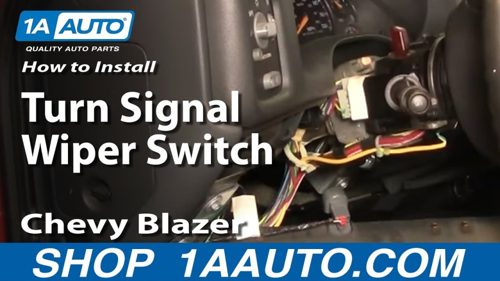medium resolution of how to replace combination switch 98 04 gmc sonoma