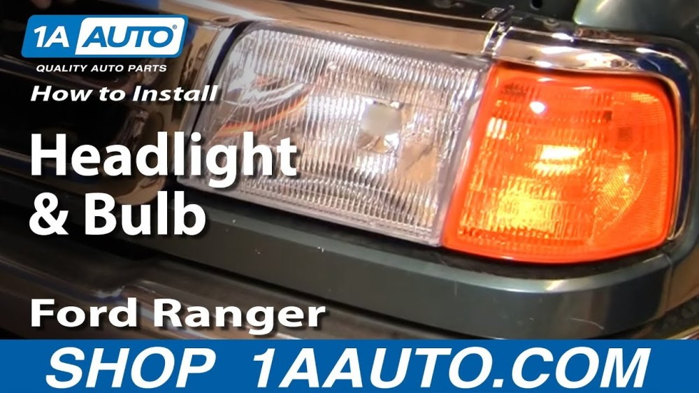 medium resolution of ford headlight assembly wiring