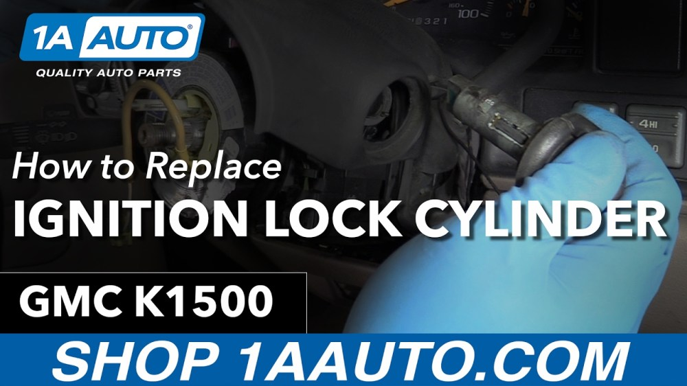 medium resolution of 2000 astro van ignition switch removal