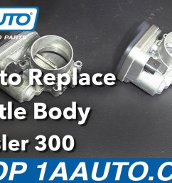 how to replace throttle body 05 10 chrysler 300 1a auto throttle body wiring harness 2007 chrysler 300 [ 1280 x 720 Pixel ]