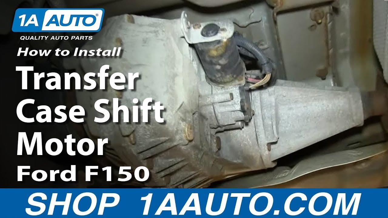 2003 Hyundai Xg350 Fuse Box Diagram How To Replace 4x4 Transfer Case Shift Motor 04 08 Ford