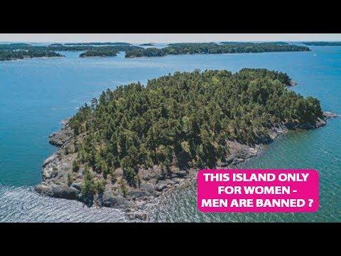 جزيرة للنساء فقط توفر لهن هذه الخدمات… ممنوع دخول الذكور إليها (فيديو)