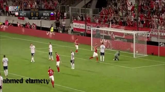 بالفيديو.. روسيا تخسر أمام النمسا وديا