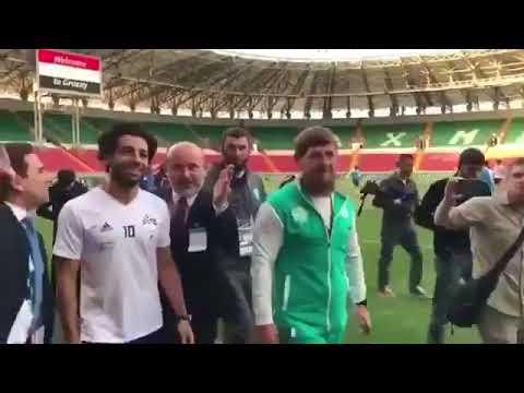 """استقبال خاص من رئيس الشيشان لمحمد صلاح """"الأفضل في العالم"""""""