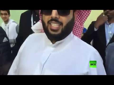 """تركي آل الشيخ عن """"محمد صلاح"""": """"ربنا يشفيك بعد المونديال"""" (فيديو)"""