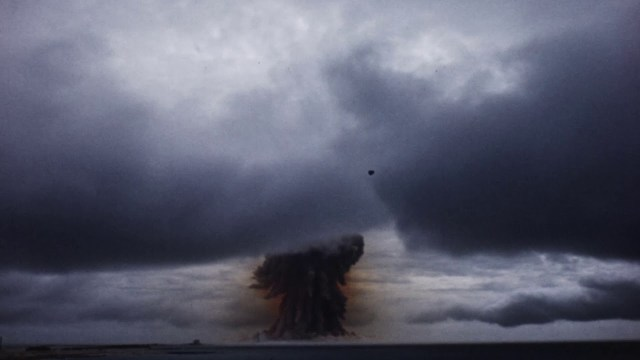 فيديو يرصد انفجار نووي هائل في أمريكا