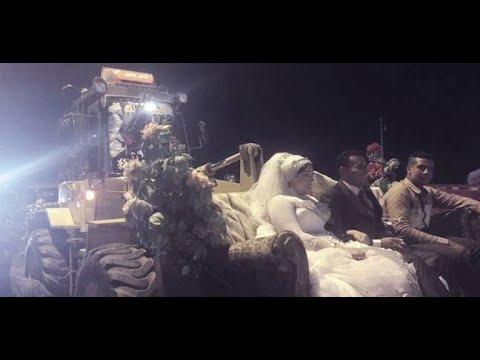 أغرب وسائل الزفاف في مصر !