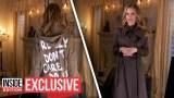عارضة الأزياء التي قلدت ميلانيا ترامب بصورة جريئة: تعرضت لتهديدات بالقتل