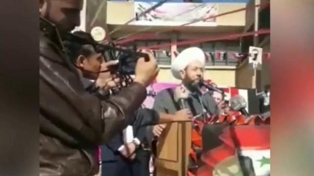 مفتي طاغية سوريا يحرّف آية في القرآن!