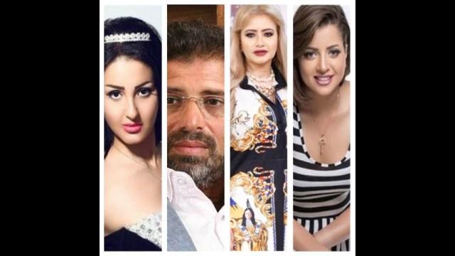 مي العيدان تفتح النار على خالد يوسف: لطّخ سمعة الفن