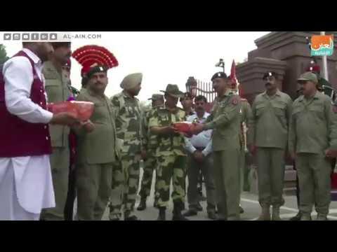 احتفالية تنكيس الأعلام بين الهند وباكستان.. أغرب طقوس حدودية في العالم