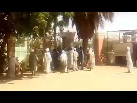 اقتحام مسجد الأنصار في ود نوباوي