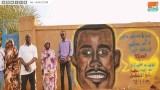 أصيل دياب .. قصة فتاة خلدت شهداء السودان بجرافيتي