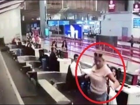امرأة تسافر بالطائرة لأول مرة.. ارتكبت خطأ قاتلًا