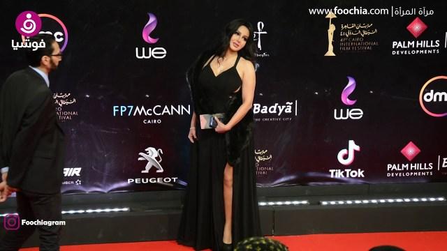 """أول ظهور للفنانة """"شيما الحاج"""" بعد خروجها من السجن"""