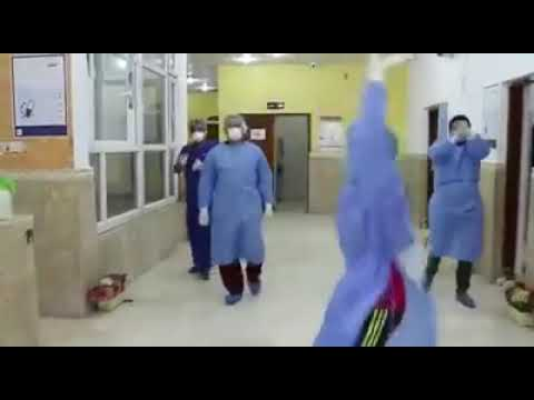 راقصا ومعافى.. هكذا خرج آخر مصاب كورونا من مستشفى واسط