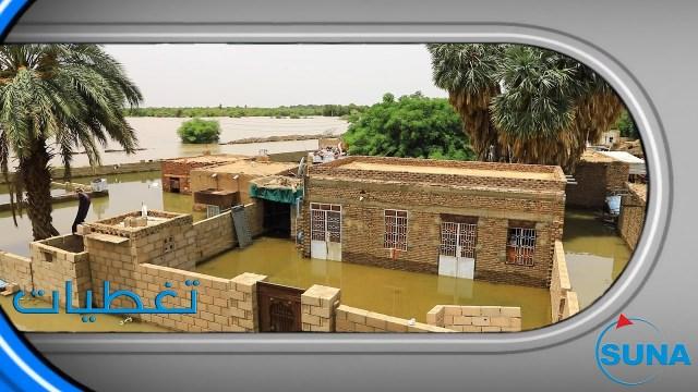 مشاهد مأساوية فاجعة لأهالي «الكدرو» شمالي الخرطوم جراء الفيضانات