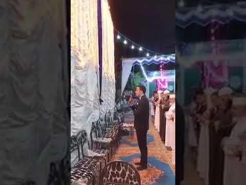 عريس مصري يوقف فرحه ليؤم المصلين لصلاة العشاء