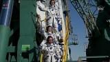 وصول فريق روسي إلى محطة الفضاء الدولية لتصوير أول فيلم في الفضاء