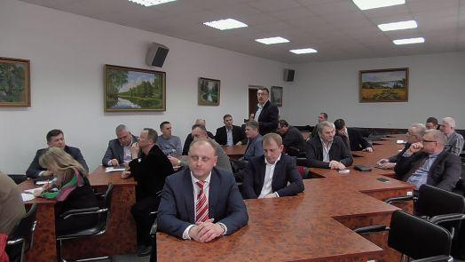 Засідання ради директорів підприємств м Бровари